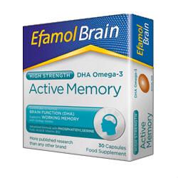 Efamol Brain High Strength Active Memory Capsules