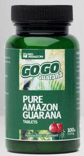 GoGo Guarana 100 Vegitabs 500mg