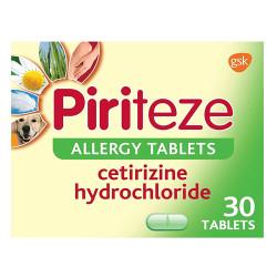 Piriteze Allergy Tablets 30