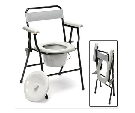 Folding Portable Commode